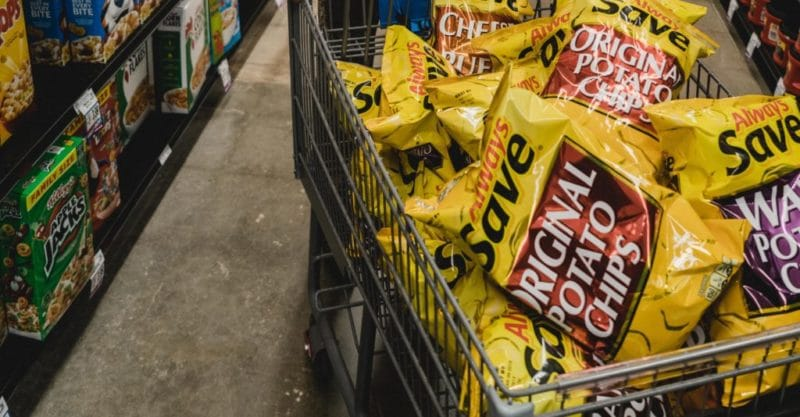 Why you shouldn't grocery shopping on an empty stomach