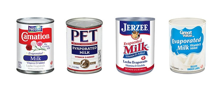 Evaporated milk brands