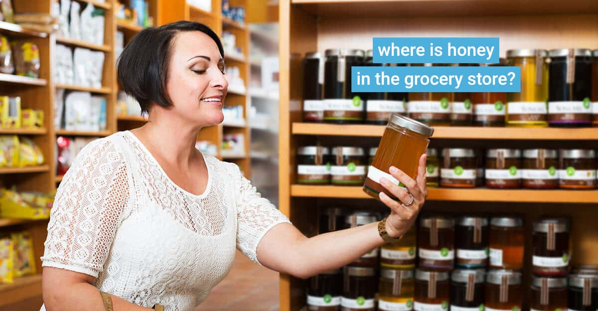 How to find honey in the grocery store?