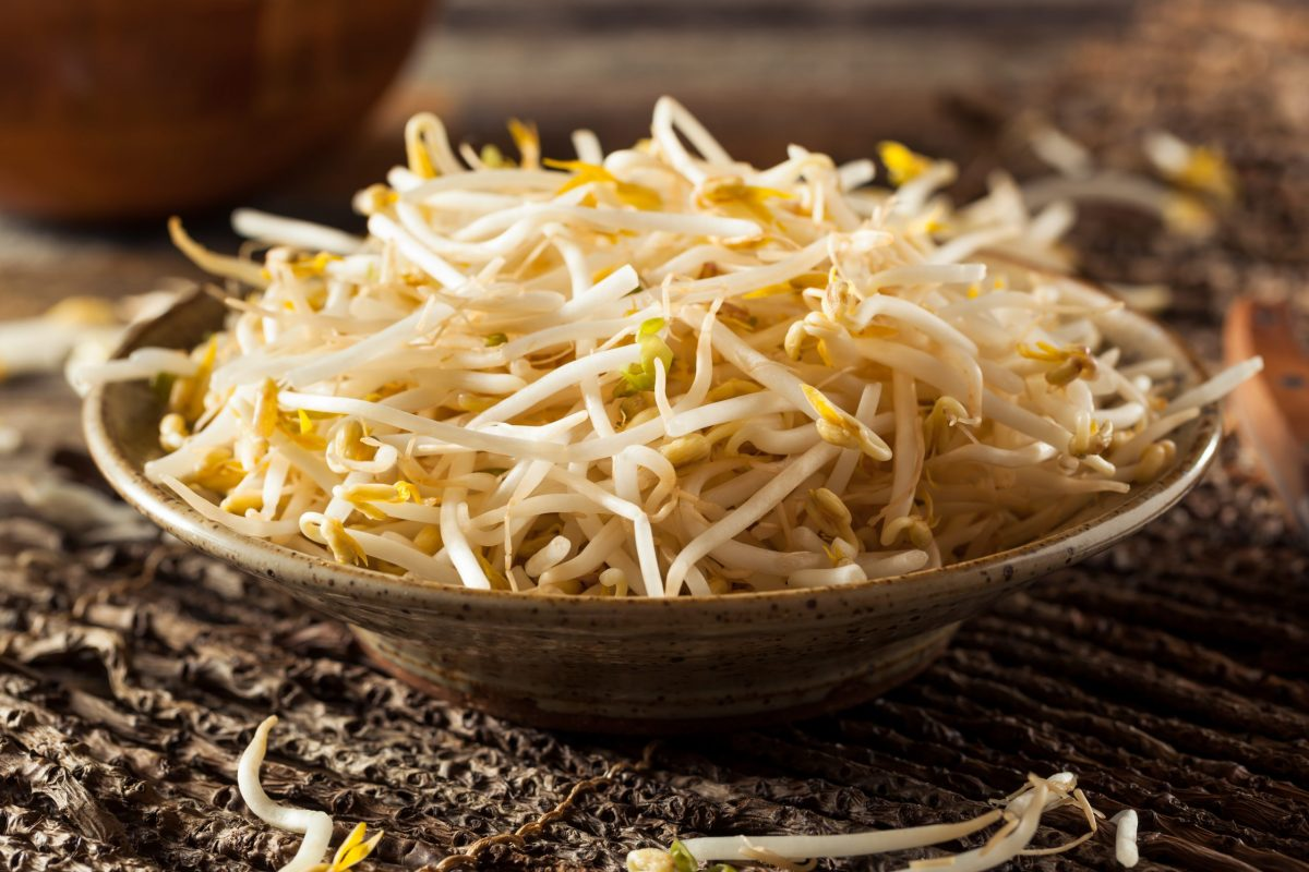 Where to find bean sprouts in the grocery store