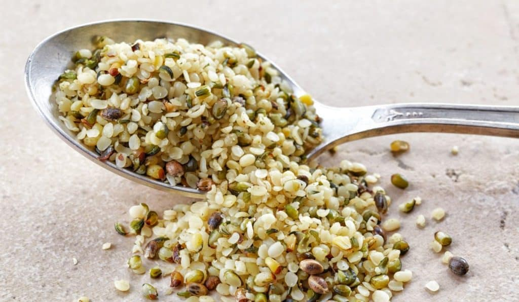 Hemp hearts nutrition