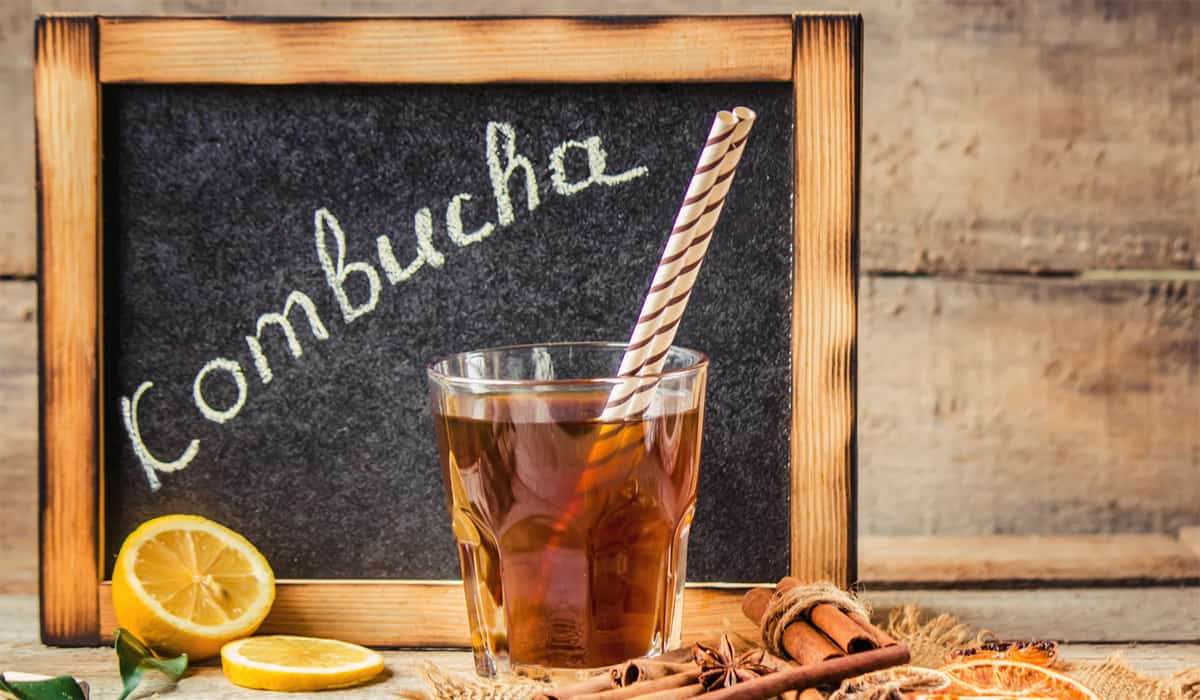 Where to find Kombucha in the grocery store