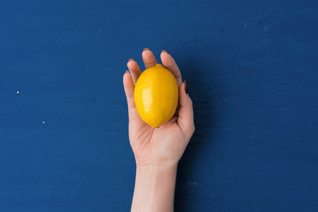 What is the average size of a lemon?