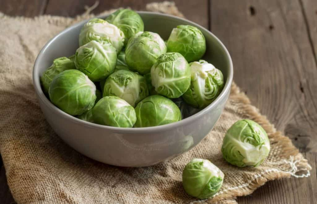 Brussel sprouts are nutrient dense