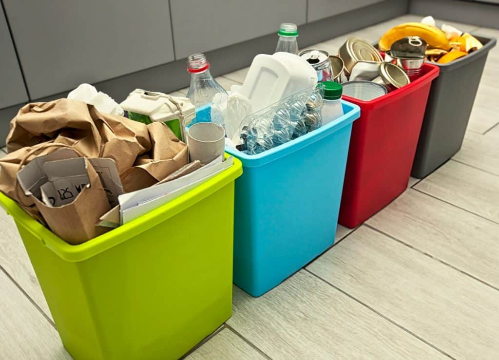 Separating food waste